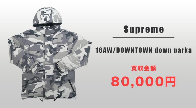 Supreme-16AWDOWNTOWN down parka