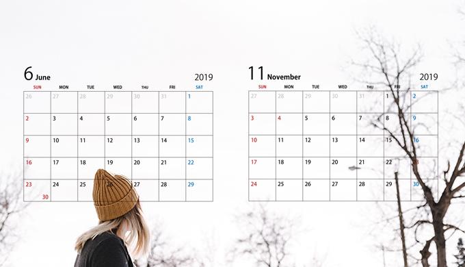 6月、11月はアパレル業界の求人が多くなる傾向