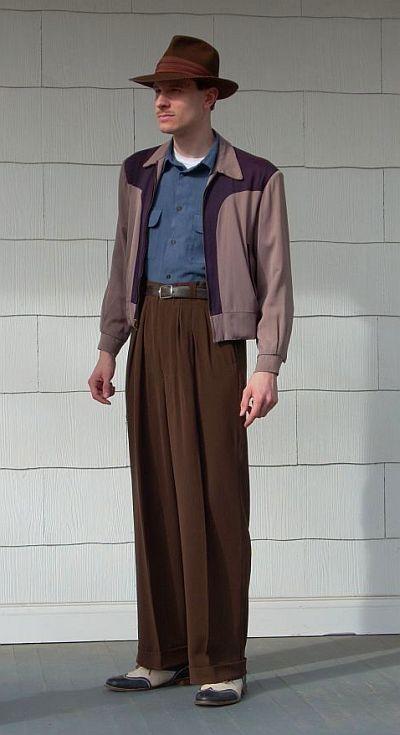 50年代スーツスタイル