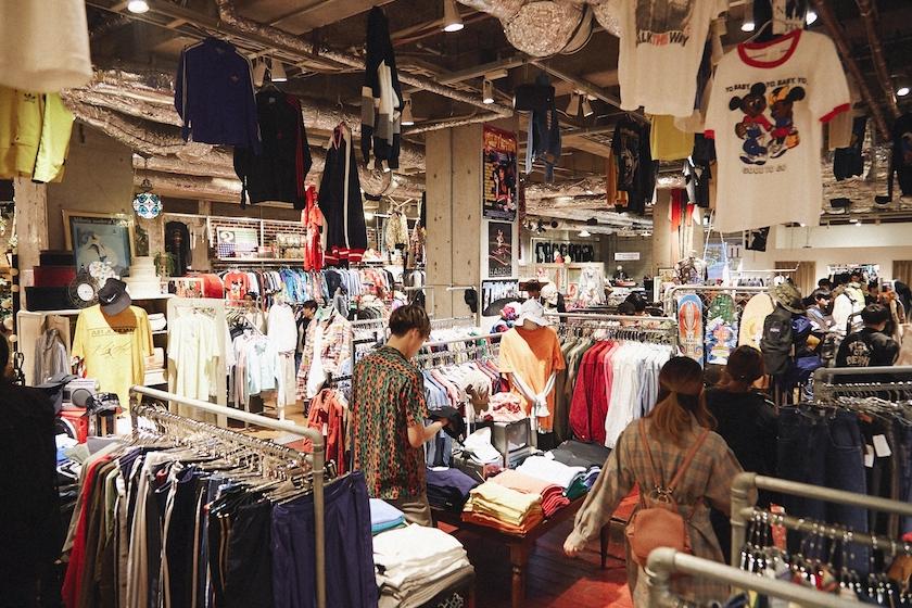 WEGO-古着屋-アメリカ村店