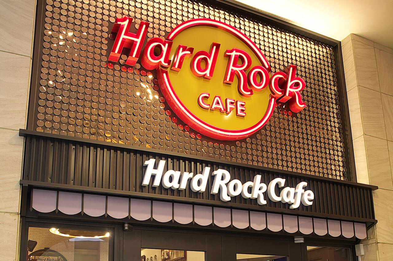 ハードロックカフェのレストラン